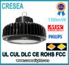 China IP65 industrial impermeabiliza 130lm/W UFO LED Highbay ligero