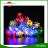 Светов шнура Sakura Foral СИД лотоса головок 4.8m солнечных украшений освещения рождества напольные 20