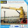 5ton Mariene Kraan van de Boom van de haven de Hydraulische Telescopische met ABS BV- Certificaat