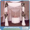 Conduzir e drapejar para a decoração do divisor de quarto ou do contexto ou do casamento do estágio
