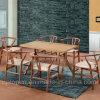 Muebles de madera del restaurante fijados con la silla y el vector del rectángulo (SP-CT729) de Y