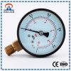 Sola medida de la presión del tubo del diseño personal usar los manómetros