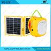 Lanterne de DEL avec la batterie de charge de panneau solaire