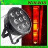 La IGUALDAD del estroboscópico del amortiguador del LED puede lavar DMX