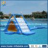 Parque flotante inflable del agua, diapositiva flotante inflable para la venta