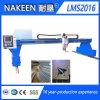 CNC van het Type van brug de Scherpe Machine van het Gas van het Plasma van de Plaat van het Metaal