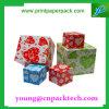 Boîte-cadeau de papier de empaquetage faite sur commande colorée d'impression de carton