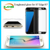 Протектор экрана Wholecover Tempered стекла плакировкой 9h для Samsung S7edge