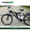 Bicicleta elétrica com o motor traseiro sem escova