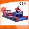 De super Opwindende Opblaasbare Cursus van de Hindernis Spiderman voor Verkoop T8-401
