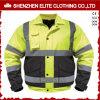 Het zwarte Groene Beschermende Jasje van de Veiligheid van de Motorfiets (eltsji-28)
