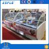Armadietto di esposizione del gelato in Doubai