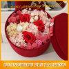 Роскошная круглая коробка шлема для цветков