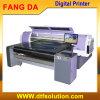 Imprimante multifonctionnelle de longue courroie de Digitals pour le T-shirt, impression de roulis de tissu