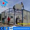 Casa prefabricada con el marco de acero y el panel ligeros