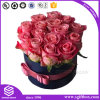 Round Cardboard Folding Cosmetic Chocolate Packaging Flower Box