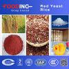 Surtidor rojo funcional del arroz de la levadura
