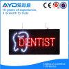 Muestra brillante del dentista LED del rectángulo de Hidly alta