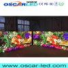 P25 1/4 Afficheur LED extérieur tricolore de grand écran du balayage DEL 200X200mm