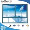 Finestra di scivolamento di vetro di alluminio di più nuovo disegno per Buidling commerciale