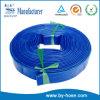Tuyau de décharge de l'eau de PVC Layflat de qualité