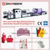 Saco de compra não tecido da alta qualidade que faz a máquina zxl-E700