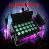 Lâmpada de escurecimento profissional do diodo emissor de luz de Rgbawuv para o clube do disco do casamento