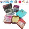 Quadratischer Zinn-Seifen-Zinn-Kasten für das Seifen-Verpacken