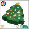 Rectángulo de papel del regalo de la dimensión de una variable del árbol de navidad