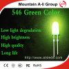 546 de groene LEIDENE Vertoning steekt de Lichtgevende Verlichting van het Teken aan Diode/LED