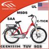 Stadt-elektrische Fahrräder 26inch