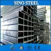 Pipa de acero cuadrada galvanizada, tubo cuadrado galvanizado inconsútil Q195/Dx51d/Q235