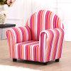 Sofá das crianças da tela da listra/mobília confortáveis dos miúdos (SXBB-13-01)