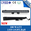 CE/RoHS/E4 Approved 100W LED Light Bar für 4WD Auto Vehicles