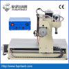Máquina de trituração acrílica de madeira do CNC da estaca da gravura