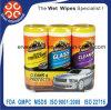 Автомобиль очищает & защищает влажные Wipes