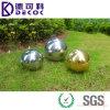 bola de acero inoxidable hueco 304 316 para la fuente de agua decorativa 300m m al aire libre del metal de 200m m