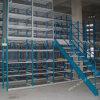 Espaço elevado cremalheira Multi-Layer utilizada do mezanino do armazenamento