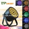 12W * 36 PCS LED 6in1 PAR puede lavar RGBWA + UV