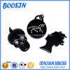 Fabrik-kundenspezifischer geformter schwarzer Metalllegierungs-Charme für Schmucksachen