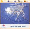 Пластмасса развевала волокно инженерства PP Macro