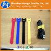 Haltbarer Nylonhaken-und Schleifen-Flausch-Draht/Kabelbinder