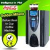 Milão dourada E3s - distribuidor comercial inteligente do café do café