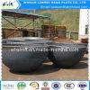 Kohlenstoffstahl-angerichtete Becken-Köpfe für Rohrfittings