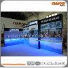 Будочка торговой выставки ткани нестандартной конструкции алюминиевая