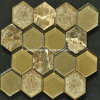 Mosaico di ceramica & di vetro di Crackle esagonale del ghiaccio 2016 (OYT-S11)