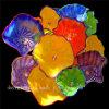 De Schotel van de Kunst van de Decoratie van het Glas van de Muur van Muticolour