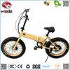 電気バイクの安く小型脂肪質のタイヤのFoldable E自転車を折る高品質卸し売り350W