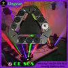 Spider Stage DMX DJ com cabeça principal com 9 cabeças