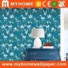 Papel de pared impermeable 3D del PVC de la decoración casera popular del hogar